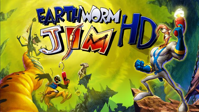 Earthworm Jim HD Screenshot 1