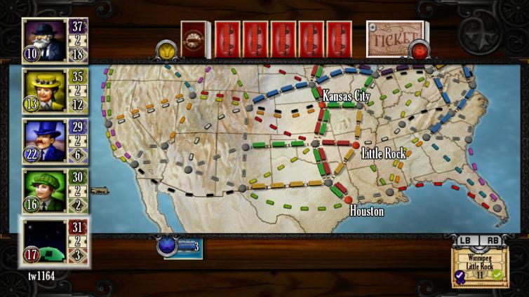 Ticket to Ride Screenshot 3