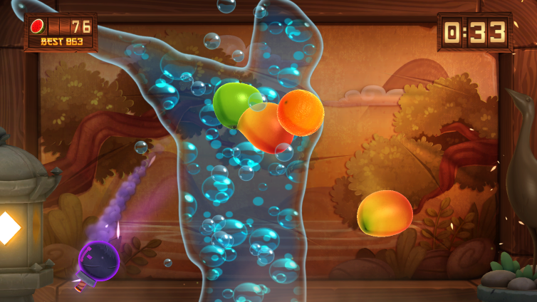 Fruit Ninja Kinect 2 Screenshot 2