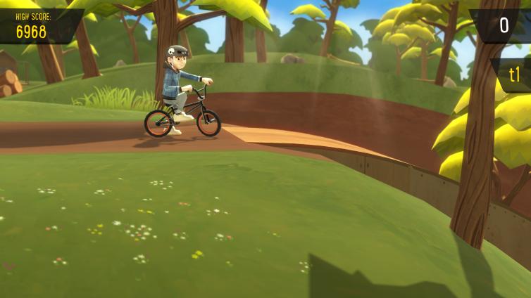 Pumped BMX + Screenshot 2