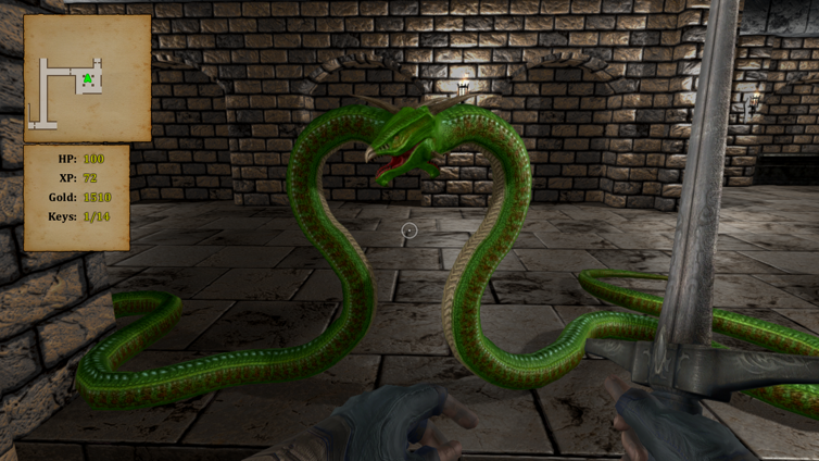 Crypt of the Serpent King Screenshot 1