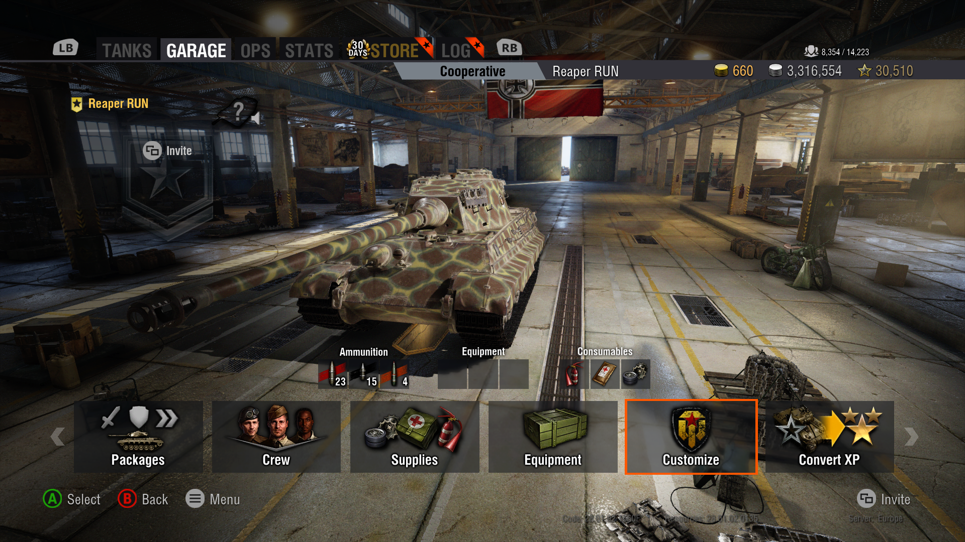 MOE dissapeared on the Tiger II after update - Report a Bug