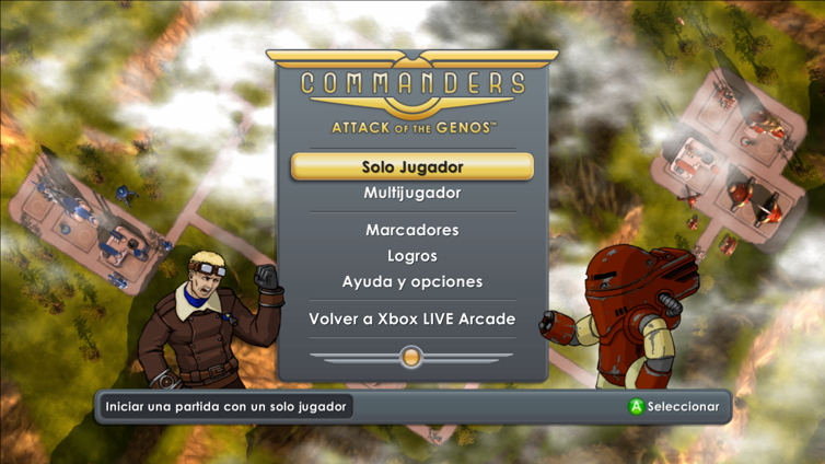 Commanders: Attack of the Genos Screenshot 1