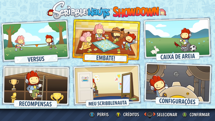 Scribblenauts: Showdown Screenshot 1