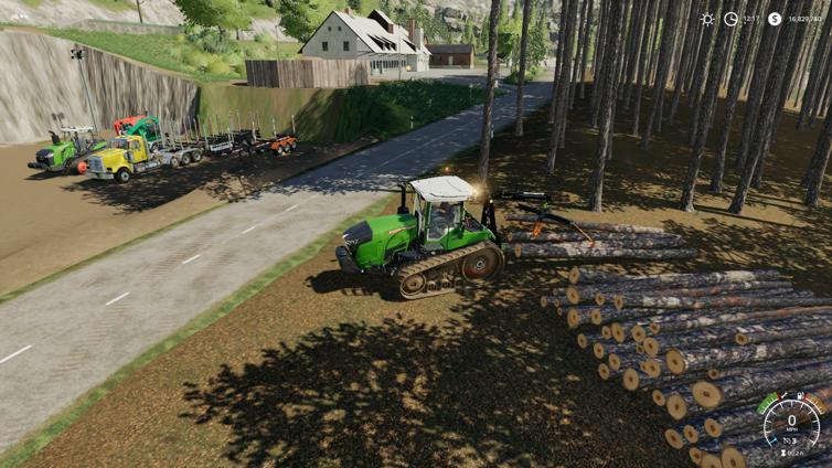 Farming Simulator 19 News, Achievements, Screenshots and Trailers
