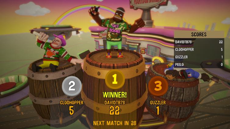 Drunk-Fu: Wasted Masters Screenshot 2