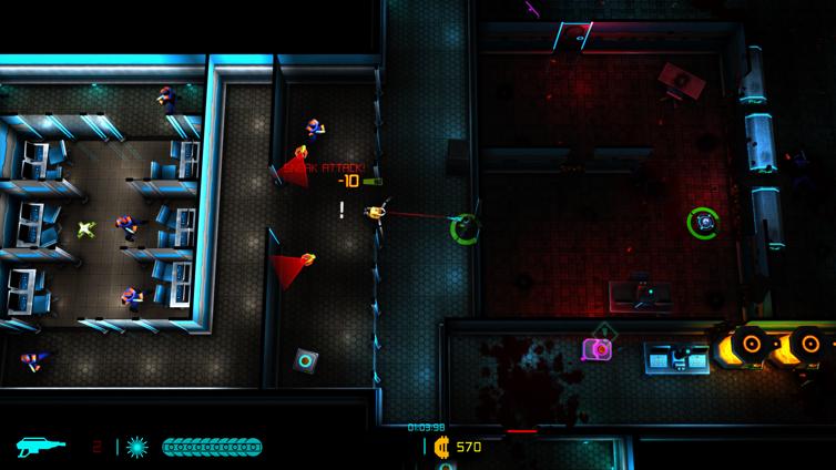 Neon Chrome Screenshot 1